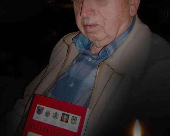 Am rămas mai puțini…  In memoriam – Vasile Ilica, un mare patriot și luptător cu nedreptățile istorice față de Nordul Bucovinei și Basarabia