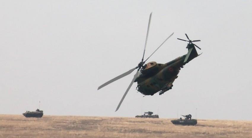 """Foto / Tancuri Abrams și TR 85, """"Gheparzii"""" și """"Pumele"""" IAR 330, exercițiul interarme cu trageri de luptă Justice Sword 15.2. în județul Galați"""
