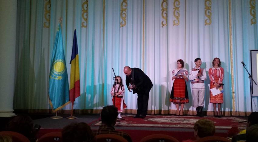 Românii din Karaganda sărbătoriți cu fast de oficiali din România și Kazahstan