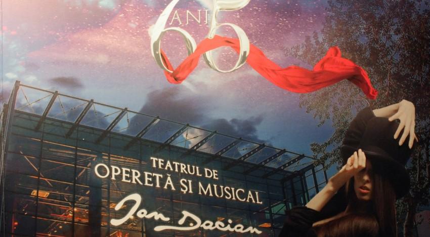 65 de ani de la înființarea Teatrului de Stat de Operetă. România printre puținele țări în care opereta are o puternică și valoroasă tradiție