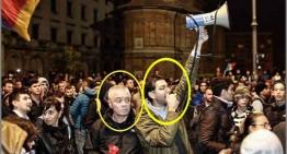 Infiltrații la protestele de la Universitate (3) …gășca lui Claudiu Crăciun și Ion Cristian Lefter