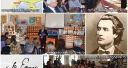 """Pentru Ziua Națională a României, Mihai Eminescu omagiat la Odesa de publicistul Vadim Bacinschi.  Prezentarea volumului """"Irosit printre ruși"""""""