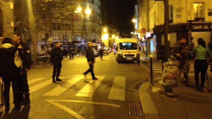 Explozii și incidente armate  în centrul Parisului! Morți și răniți! Președintele François Hollande evacuat de serviciile de securitate