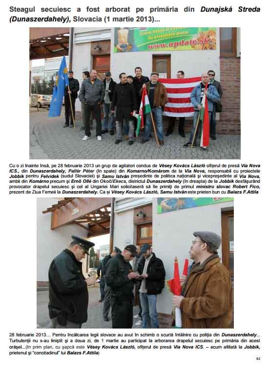 RBN_Press_Steagul secuiesc a fost arborat pe primăria din Dunajská Streda