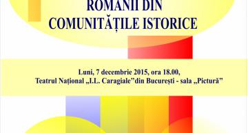 Gala premiilor de excelență pentru etnicii români din comunitățile istorice