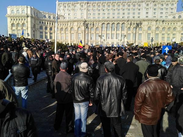 Păstorii au renunțat la protestul inițiat azi în fața Parlamentului