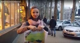 Replica la  gestul antiromânesc din Parlamentul RM! Harta Rusiei făcută bucăți… Bravo Domnica Cemortan