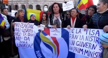 Video din Italia: De la Tisa pîn la Nistru vrem o Țară. Vrem să ne întoarcem acasă în Chișinău – România