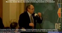 Video: Românii din jurul României și românii din R. Moldova, omiși de rezoluția finală a Conferinței Românilor de Pretutindeni! Reacție dură a președintelui Asociației Culturale Pro Basarabia și Bucovina!