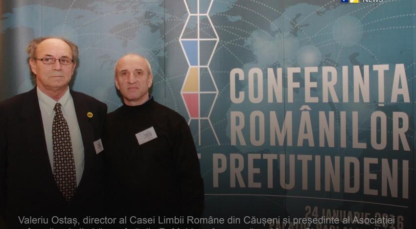 Video: Valeriu Ostaș (Casa Limbii Române din Căușeni RM) mesaj către autoritățile române de Ziua Unirii Principatelor la Conferința românilor de pretutindeni