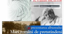 """""""Gândit în România"""" la Institutul Cultural Român"""