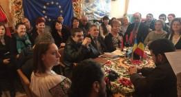 Mândrul Neamul Românesc din Transcarpatia.  Șezătoare românească la Euroclubul din Apșa de Mijloc