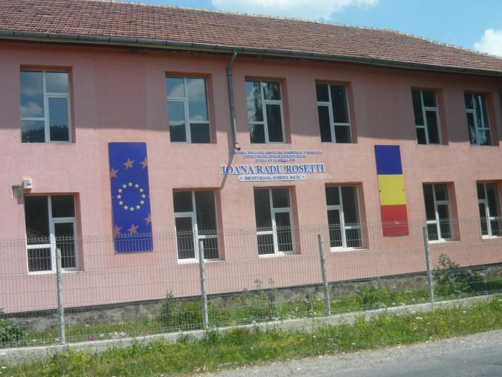 Școala Ioana Radu Rosetti în anul 2015