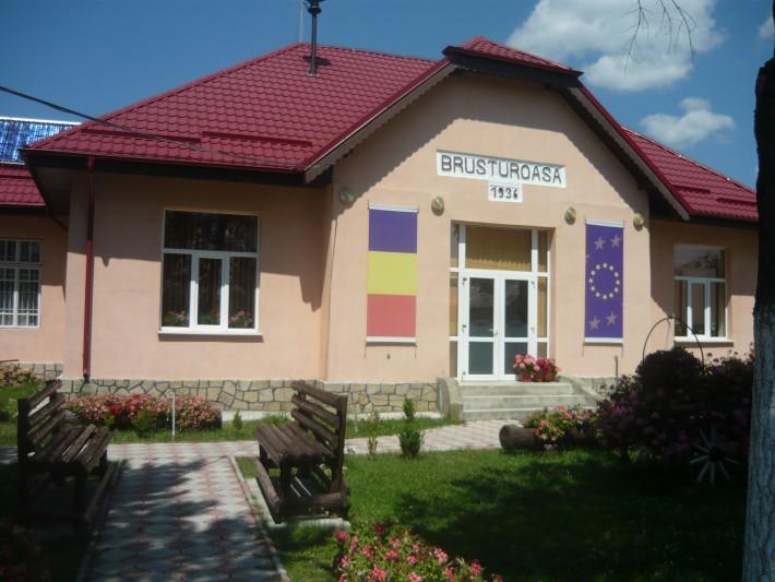Primăria comunei Brusturoasa