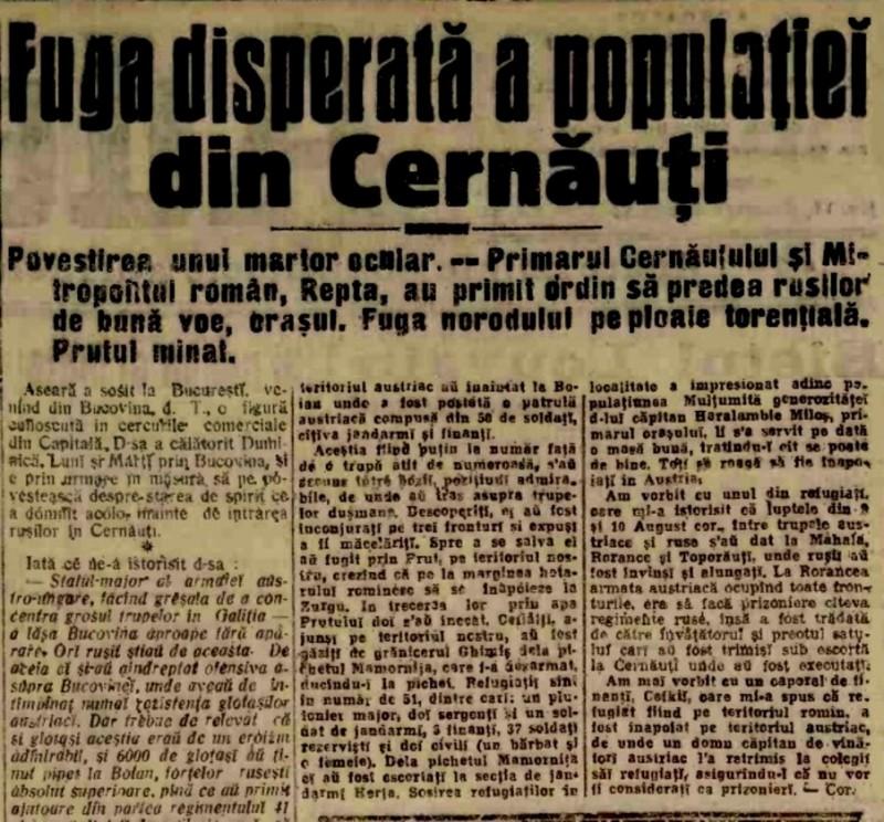 1914-aug-22-A-Fuga-din-Cernauti-1