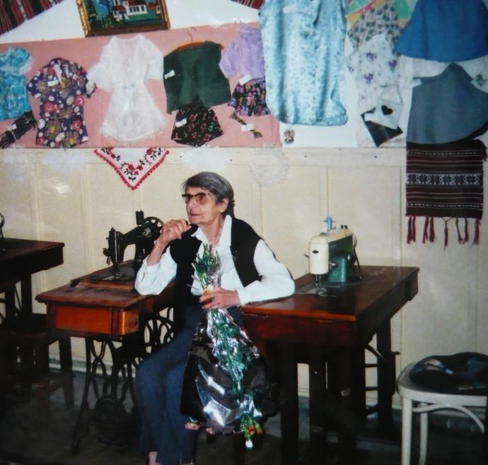 Elisabeta VARLAM, fiica lui Radu R. Rosetti (2001)