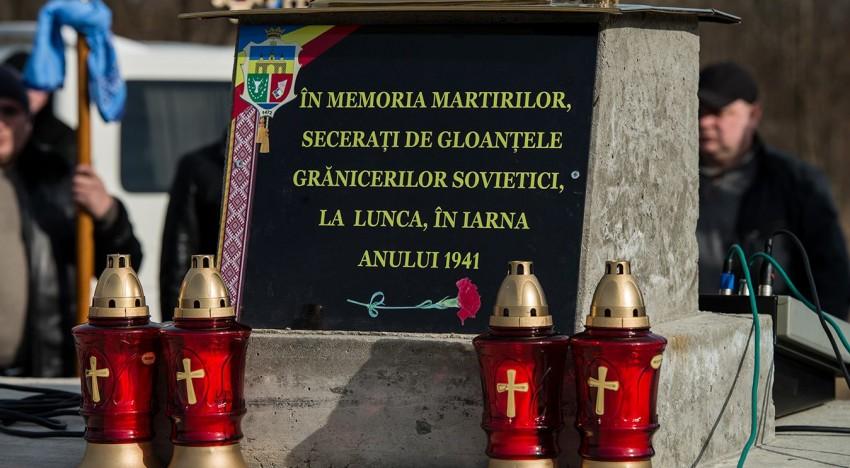 Video: Comemorarea martirilor români de la Lunca Prutului / 10 februarie 2019
