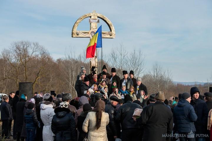Lucna Prutului Fotografie din ziua comemorării. Sursa: Mănăstirea Putna