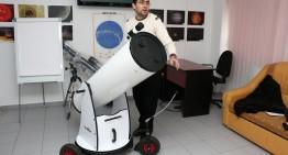 """""""Școala Altfel"""" la Observatorul Astronomic al Muzeului """"Vasile Pârvan"""" din Bârlad, județul Vaslui"""