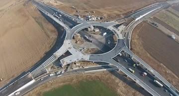 Proiect de anvergură, unic în România. Primul sens giratoriu suspendat este aproape gata. Imagini spectaculoase!
