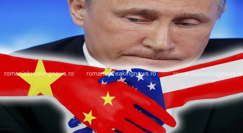 """China s-a alăturat sancțiunilor împotriva Rusiei! """"Sistemul bancar chinez prețuieste relațiile cu băncile americane"""""""