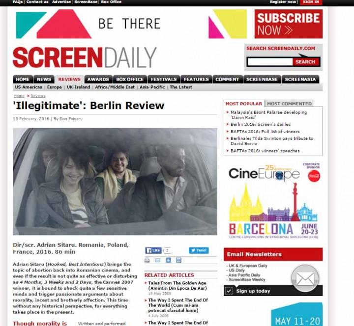 Screen International