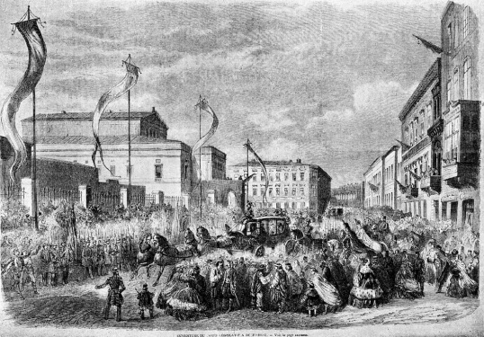 http://romaniabreakingnews.ro/azi-8-februarie-1859-alexandru-ioan-cuza-a-intrat-triumfal-in-bucuresti-ca-domn-al-principatelor-romane/