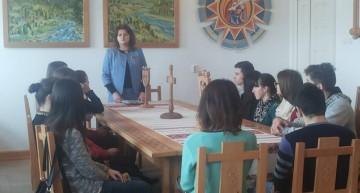 Prelegere despre cultura românească, la Colegiul de Arte din Cernăuți