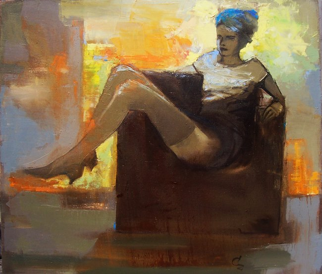 In the shade (Victoria Cozmolici)