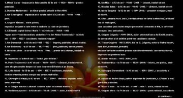 LISTA ROMÂNILOR ASASINAȚI DUPĂ `90 ÎN R. MOLDOVA, PENTRU VINA DE GÂNDI ȘI SIMȚI ROMÂNEȘTE