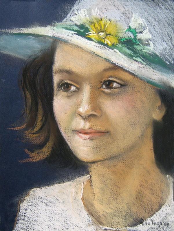Pălăria albă ( Inga Edu)
