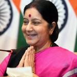 Sushma Swaraj ministrul de externe al Indiei