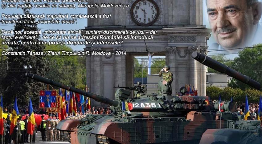 Armata Română va fi săbătorită la Chișinău