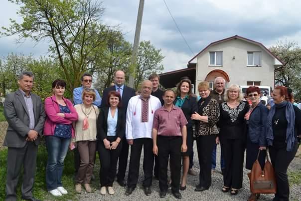 Volohii din Poroșkovo, vizitați de consulul general al României la Cernăuți și guvernatorul regiunii Transcarpatia