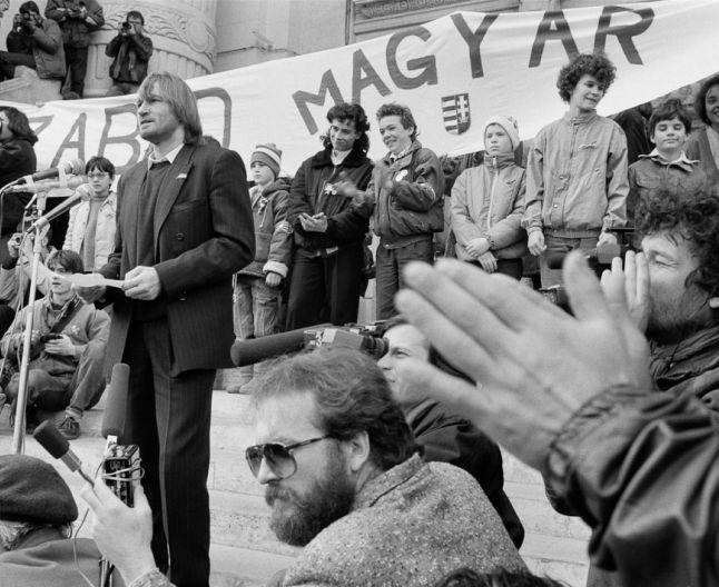 Demonstratie a opozitiei politice ungare (1989)