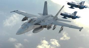 NATO (VIDEO): Frăția MIG-21 și CF-18 Hornet pe cerul României