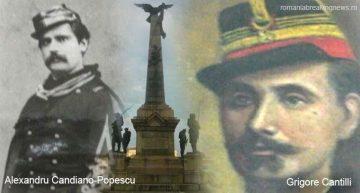 De Ziua Eroilor,  …doi eroi ai Războiului de Independență: Alexandru Candiano Popescu și Grigore Cantilli