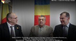 Exclusiv! Niculae POPA, președintele Consiliului Romano-American în dialog cu Marian CLENCIU (As.Cult.Pro Basarabia și Bucovina) și Mihai NICOLAE (Institutul Frații Golescu)