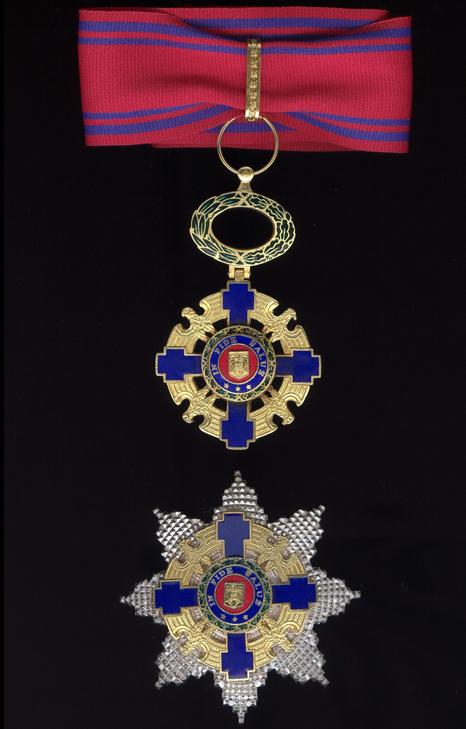 Ordinul National Steaua Romaniei în grad de mare Ofițer, pentrut civili