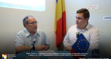 Exlusiv! Românitatea, prezentul și alegerile prezidențiale din R. Moldova. Partidul unionist DREAPTA în dialog cu As.Cult. Pro Basarabia și Bucovina la București