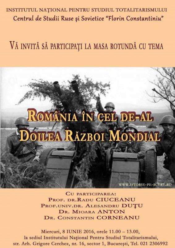 România în cel de-al Doilea război mondial