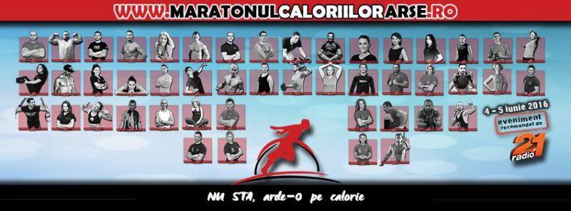 maratonul caloriilor arse