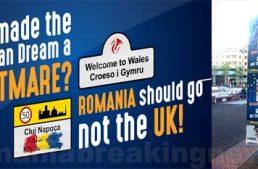 """Anti-România și Cluj-Napoca în Olanda via Ungaria: """"România să părăsească UE, nu UK!"""""""