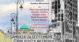 """CU CĂRȚILE DESCHISE – Spectacol eveniment în cadrul proiectului """"Noaptea bibliotecilor"""""""