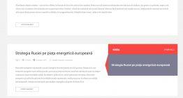 Un nou site (cel mai mare) destinat problematicii Geopoliticii Spațiului Estic va fi lansat la București