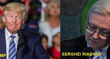 Serghei Riabkov, viceministrul de externe rus nu a fost atât de încântat de victoria lui Trump. Aliații lui Trump au făcut unele declarații foarte dure la adresa Rusiei
