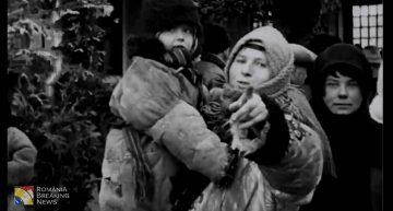 De Ziua Bucovinei! Descoperire de senzație în arhiva poloneză! Emoționante imagini cu țăranii români de la Nistru (nordul Bucovinei) la inaugurarea în ianuarie 1930 a podului de cale ferată peste Nistru dintre Zalescic/Polonia și Costrijeni/ROMÂNIA