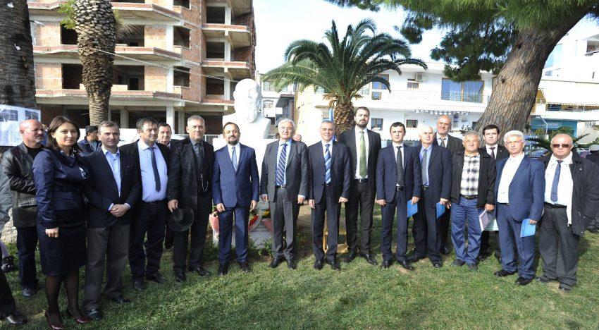 La Sarandë, în Albania s-a dezvelit bustul marelui istoric și politician român Nicolae Iorga