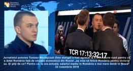 """Video! Jurnalist polonez agresat la televiziunea rusă pentru că a apreciat România! """"aș vrea să felicit România pentru victoria sa (…) salariul în România e mai mare decât în Rusia"""" A urmat un haos în studioul rusesc!"""