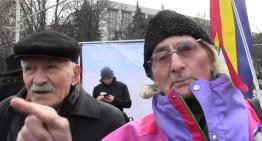 """Video: În stradă, la Chișinău de 1 decembrie: """"Românismul este un punct de la care pornește gândirea noastră. Este o trăire sfântă, asta este România pentru noi"""""""